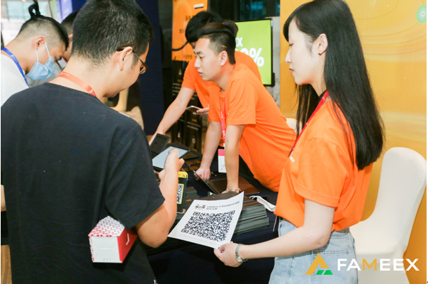 FAMEEX团队出席2020深圳大湾区•国际区块链周,共话区块链行业发展